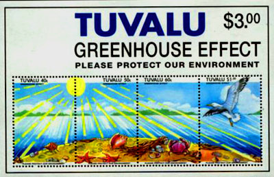 Tuvalu islands stamp