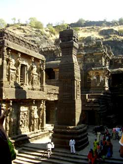 Ellora rock-cut temple