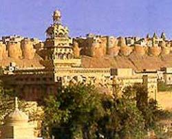 abandoned fort in jaisalmer